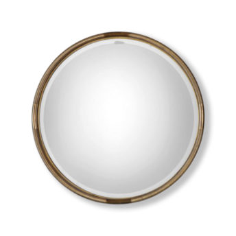 Finnick-Gold-Round-Mirror-by-Uttermost-91cm