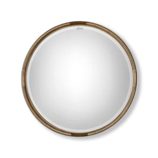 Finnick-Gold-Round-Mirror-by-Uttermost-91cm