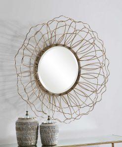 Rosie Round Mirror