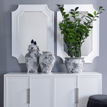 Chalet Wall Mirror White