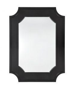 Chalet Wall Mirror Black