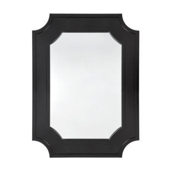 Chalet Wall Mirror Black