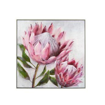 Framed Pink Pair Sugarbush