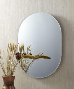 Hardy Frameless Oval Mirror