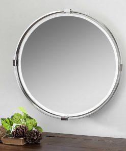 Tazlina Round Mirror