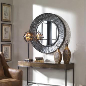 Alita Round Mirror