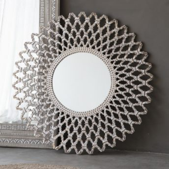 Bally Round Decorative Wall Mirror
