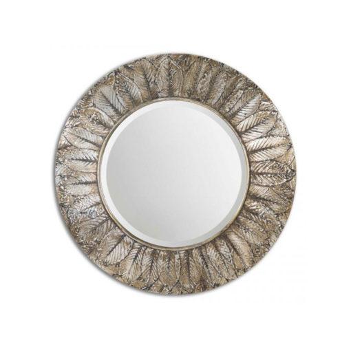 Foliage-Round-Mirror-by-Uttermost-91cm