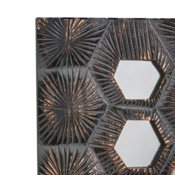 Liya Bronze Mirrored Wall Art