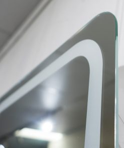 Nordic Contemporary Front-lit LED Mirror