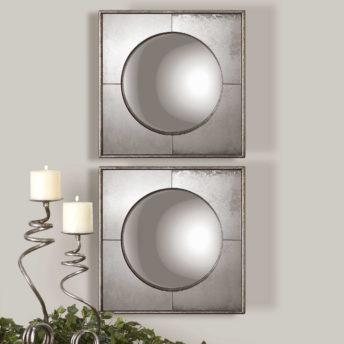 Savio Square Mirrors