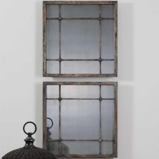 Saragano Square Mirrors