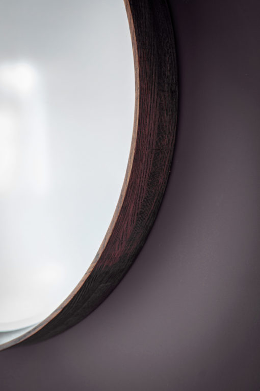 Boston-Walnut-Round-Mirror-Detail