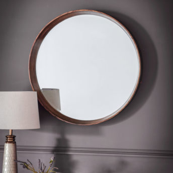 Boston-Walnut-Round-Mirror-Lifestyle