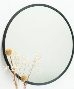 Metal Round Bathroom Mirror