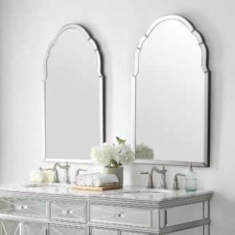Luxe Mirrors Buyer's Guide: How Choose a Suitable Mirror for Your Home. Brayden Frameless Mirror