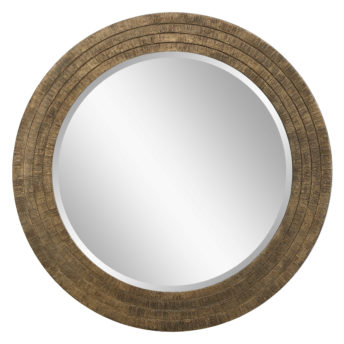 Relic Round Mirror by Uttermost