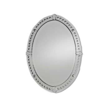 Graziano Oval Mirror by Uttermost 64cm x 86cm