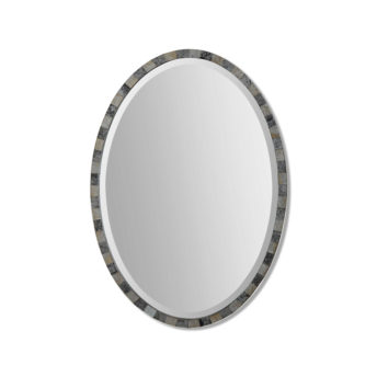 Paredes Oval Mirror by Uttermost 53cm x 74cm