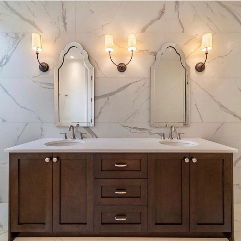 Frameless Bathroom Mirrors by Uttermost