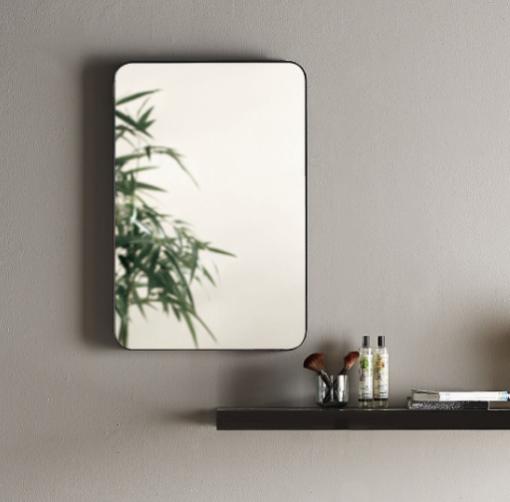 Madrid-Curved-Corner-Black-Frame-Bathroom-Mirror---50cm-x-75cm