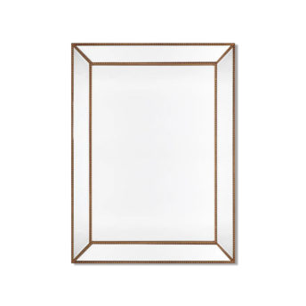 Zanthia Large Wall Mirror - Gold - 90cm x 120cm