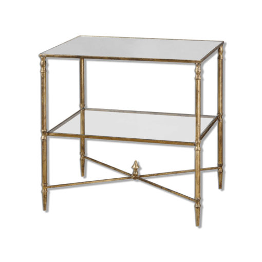 Henzler Lamp Table by Uttermost
