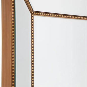 Zanthia Large Wall Mirror - Gold - 90cm x 120cm