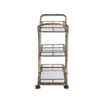 Stassi Serving Cart by Uttermost