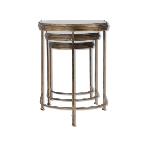 India Nesting Tables S/3 by Uttermost