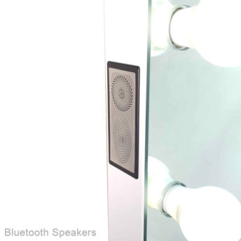 Glam Frameless Hollywood Mirror with Bluetooth - 60 CM x 80 CM