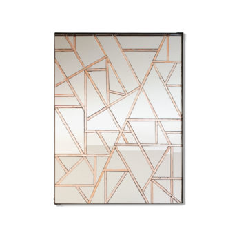 """Empire"" Handmade Mosaic Rectangle Mirror – Wall Art by Mirror Envy 60 x 80 cm"