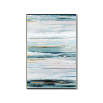 Skyline Abstract Wall Art Canvas 80 cm X 120 cm