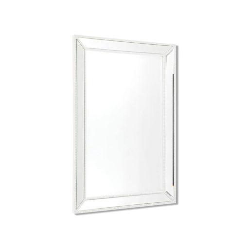 Zanthia Medium Wall Mirror White 61cm x 92cm