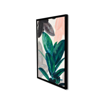 Leaves of Green Wall Art Canvas 63 cm X 93 cm