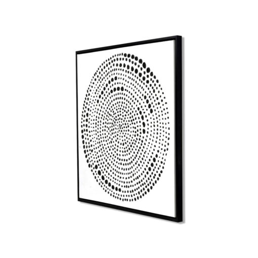 Dots of the Circle Wall Art Canvas 105 cm X 105 cm