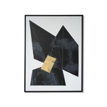 Tonality Dark 2 Wall Art Canvas 63 cm X 82 cm