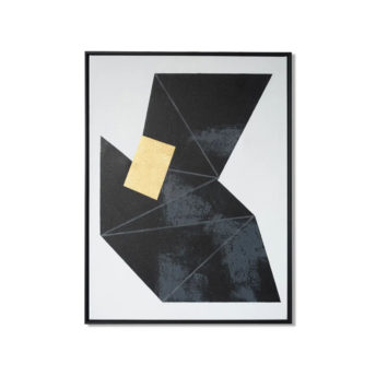 Tonality Dark 3 Wall Art Canvas 63 cm X 82 cm