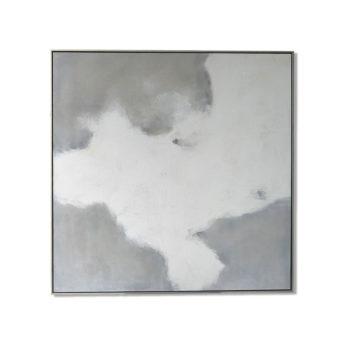 Pure Overcast Wall Art Canvas 118 cm X 118 cm