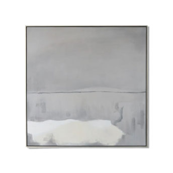 Clarity Overcast Wall Art Canvas 118 cm X 118 cm