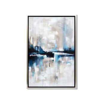 Abstract Skyline Wall Art Canvas 65 cm X 95 cm