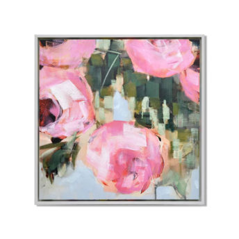 Pink Tulips Wall Art Canvas 105 cm X 105 cm