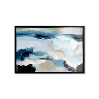 Blue of the Water and Skies Wall Art Canvas 65 cm X 95 cm