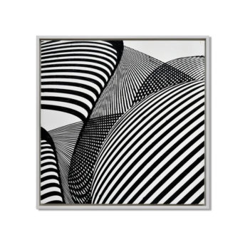 Future Spirals Wall Art Canvas 85 cm X 85 cm