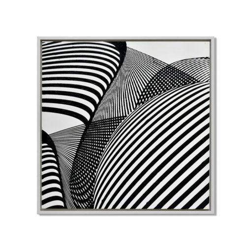 Future Spirals Wall Art Canvas 85 cm X 85 cm