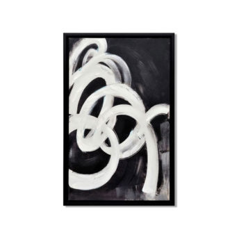 Blowing of the Wind Wall Art Canvas 55 cm X 85 cm