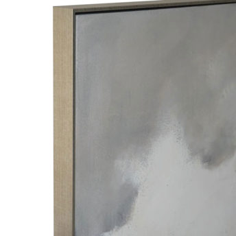 Pure Overcast Wall Art Canvas 118 cm X 118 cm