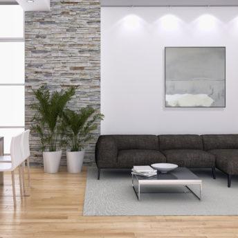 Clarity Overcast Wall Art Canvas 118 cm X 118 cm