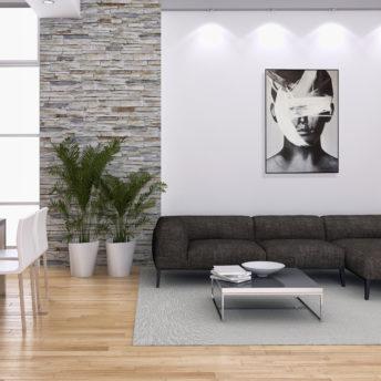 Contemporary Lad Wall Art Canvas 98 cm X 138 cm