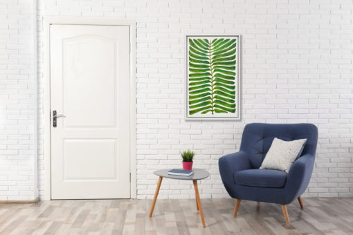 Ferns of the Valley Wall Art Canvas 55 cm X 85 cm